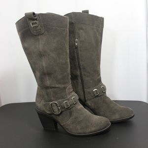 BareTraps Leather Toya boots 7.5 M